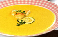 Суп-пюре из курицы для ребенка
