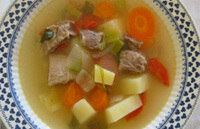 Суп-пюре из мяса для ребенка