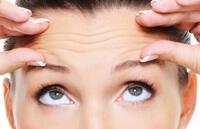 Морщины и возрастные изменения кожи человека.
