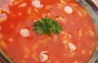 Томатный суп с рисом для ребенка