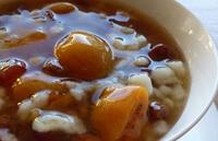 Суп сладкий с рисовыми клецками для ребенка