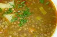 Суп из чечевицы для ребенка