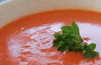 Томатный суп с овощами для ребенка
