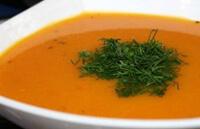 Морковный суп-пюре с рисом для ребенка