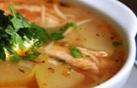 Суп из молодых овощей для ребенка