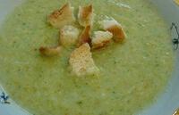 Суп-пюре из цветной капусты для ребенка