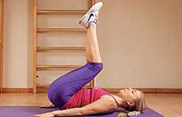 Упражнение от растяжек - Хатха-йога