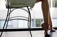 Упражнение от варикоза на стуле