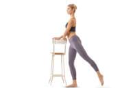 Упражнение от варикоза - ноги в стороны