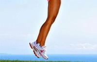 Упражнение от варикоза - прыжки на носках