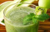 Зеленый коктейль для быстрого похудения
