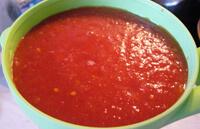 Приготовление томата-пюре