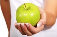 Очистка организма яблочной диетой Пегано при псориазе
