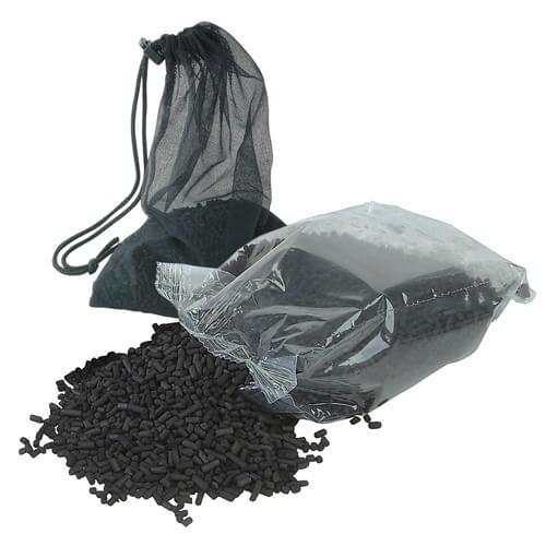 Активированный уголь для аквариума.