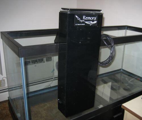 скиммер AquaC Remora для морского аквариума