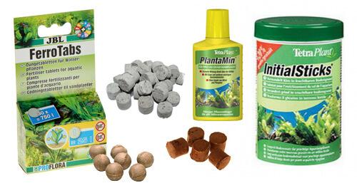 Удобрения для водных растений.
