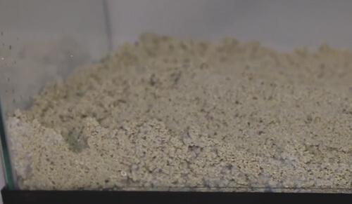 Песок для морского аквариума.